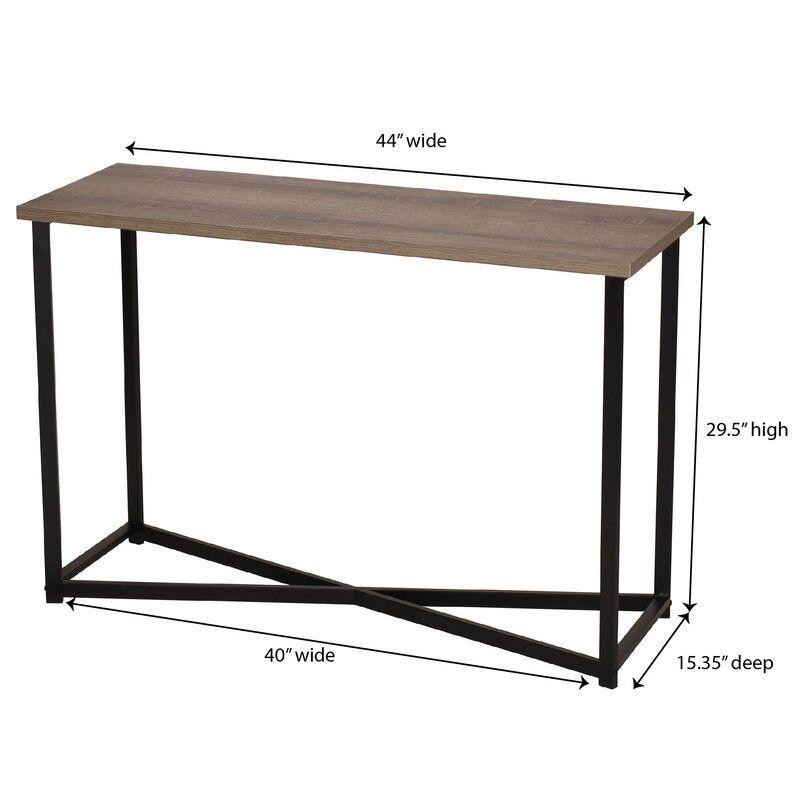 Ashwood 44 Console Table Sofa Table Console Table Table Top Design