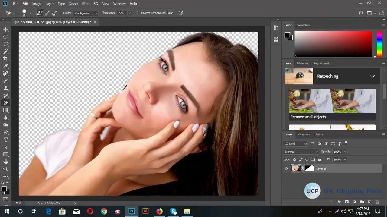 How to remove background from Images by Photoshop cc ...