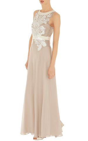 Cutwork and bead maxi dress | Wedding Dresses | Pinterest | Karen ...