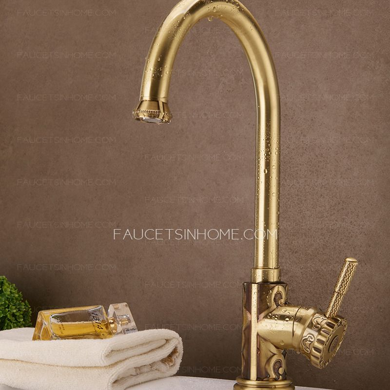 home kitchen faucets expensive bronze carved sink most uberfaucets ...