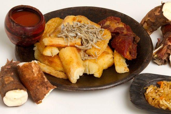 Yuca frita, una de nuestras comidas típicas