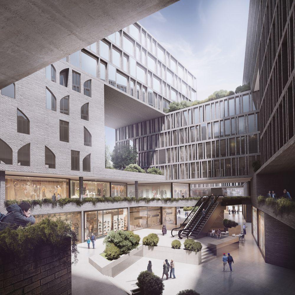 Galería de AGi architects y Shift Process Practice obtienen segundo lugar por proyecto mixto en Irán - 4
