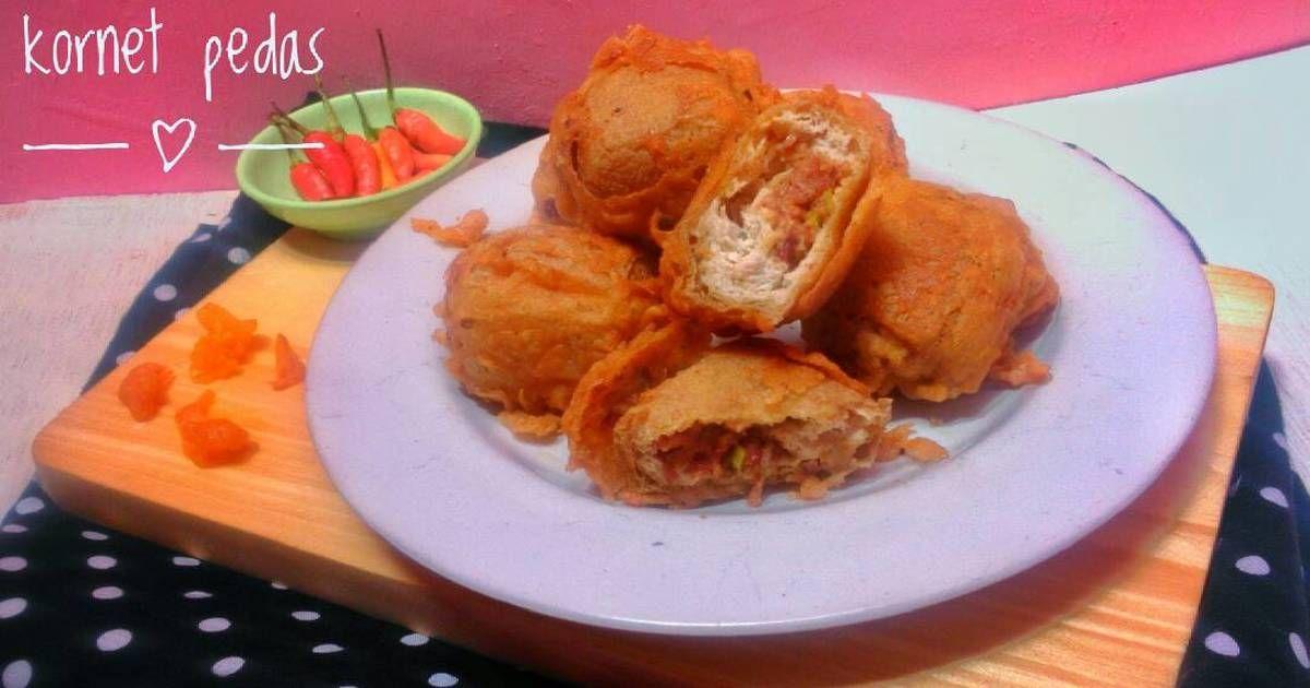 Resep Tahu Isi Kornet Pedas Oleh Dish By Ifah Resep Resep Tahu Makanan Resep