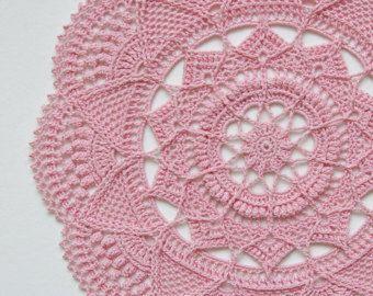 Doily pattern - crochet pattern - crochet doily - TAALA - textured crochet - instant download - modern crochet pattern - round doily