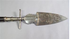 Danish officer's spontoon, model 1762
