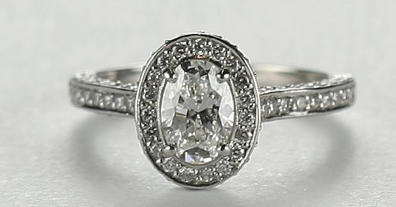 Vintage Engagement Rings Ring A Beautiful Cushion Cut Style