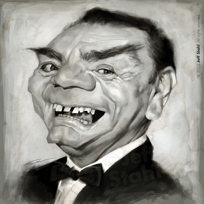 Ernest Borgnine (RIP), by Jeff Stahl by JeffStahl.deviantart.com on @deviantART