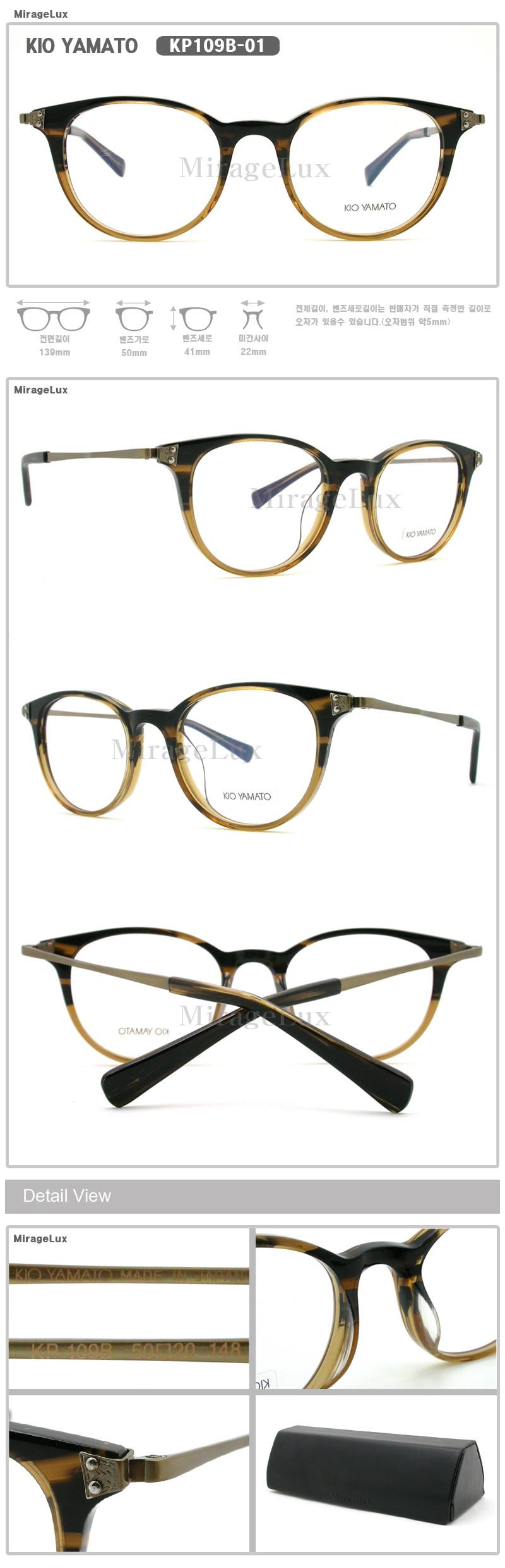 KIO YAMATO KP109B-01,02,03,04   Other Brand     Favorite eyeglasses ...