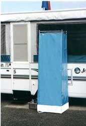 portable shower that stows away | Vintage Campers, Travel Trailers ...