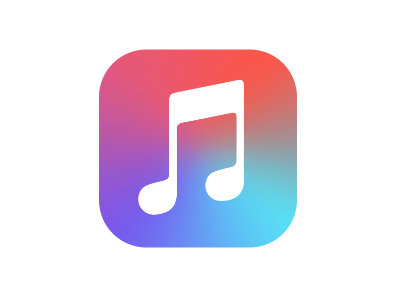 Apple Music ColorFlipped Music coloring, Apple music, Apple