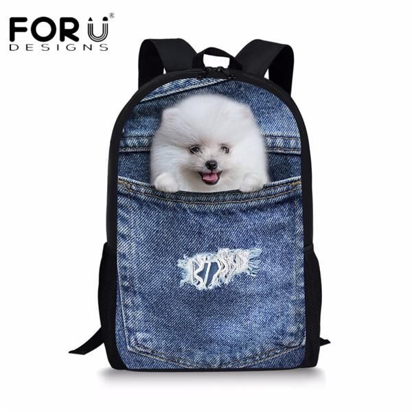 Generic Dog 3D Print Small Messenger Bags for Adults Cute Mini Cross body Bag for Children Shopping