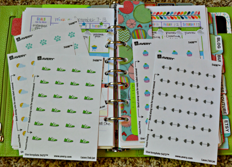 How to make your own planner stickers so many great ideas for Build your own planner online