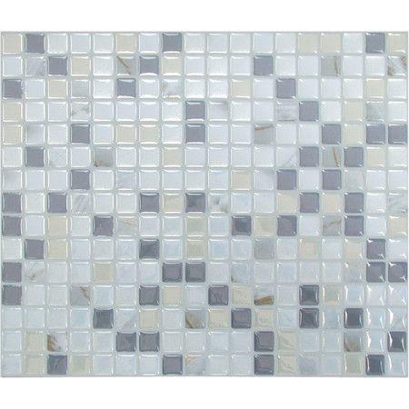 Self-Adhesive Glass Mosaic Tile  at Joss and Main