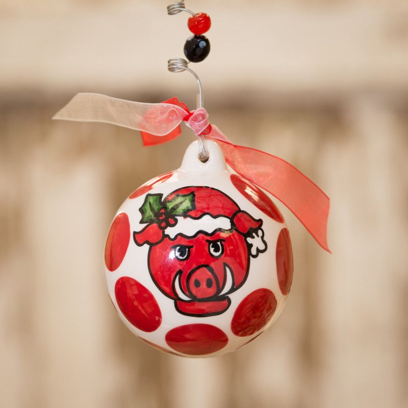University of Arkansas Christmas Ornament - University Of Arkansas Christmas Ornament University Of Arkansas