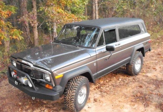 1979 Jeep Cherokee Chief Maintenance Restoration Of Old Vintage