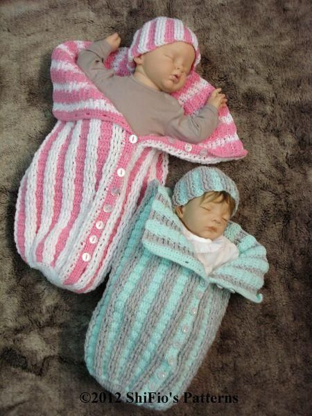 231 Pleated Cocoon Crochet Pattern #231 | Pinterest | Kinder häkeln ...