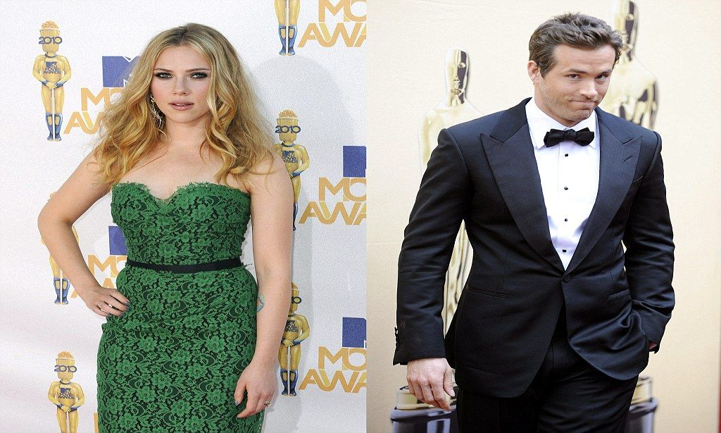 Did Angry Rows End Ryan Reynolds And Scarlett Johanssons Marriage