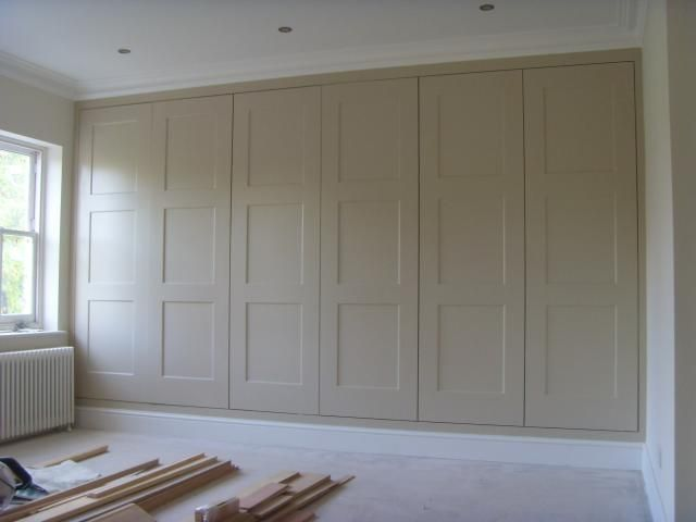 Love How These Look Like Old Fashioned Paneled Walls Fitted Wardrobes Kingston KT1