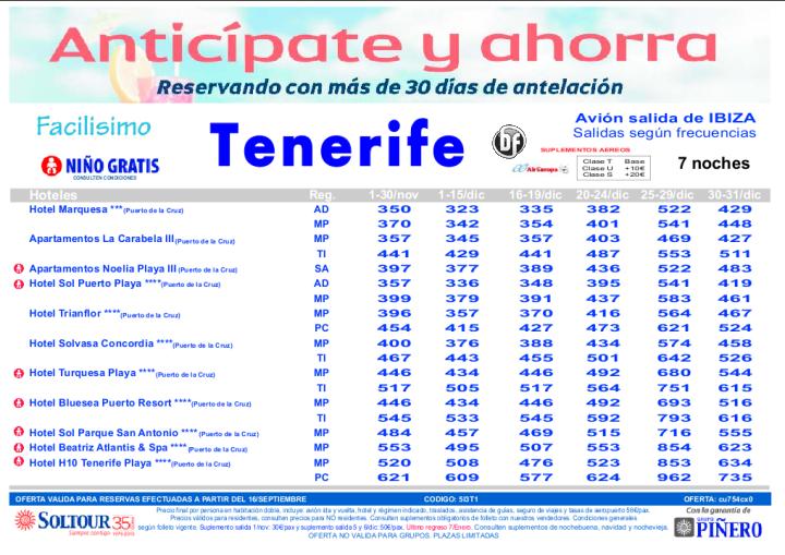 Anticipate y ahorra. Hoteles en Tenerife salidas desde Ibiza - http://zocotours.com/anticipate-y-ahorra-hoteles-en-tenerife-salidas-desde-ibiza-2/
