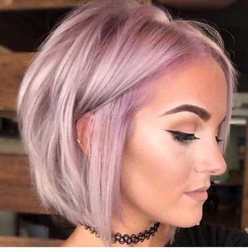 Bob Frisur Für Feines Haar Haare Pinterest Frisuren Für Feines