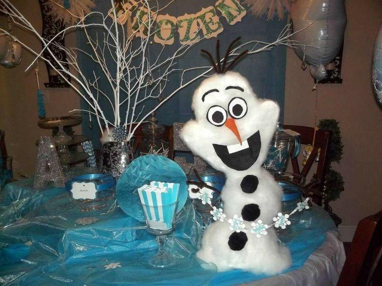 Geburtstagsfeier der Schneekönigin und Schneekönigin Geschenk - frozen halloween decorations