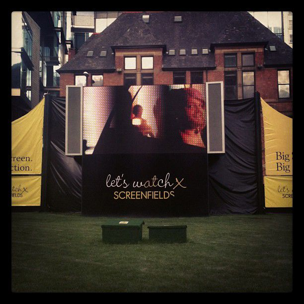 The Redfoot team spent many a day soaking up the sun and catching a film at Spinningfields in Manchester
