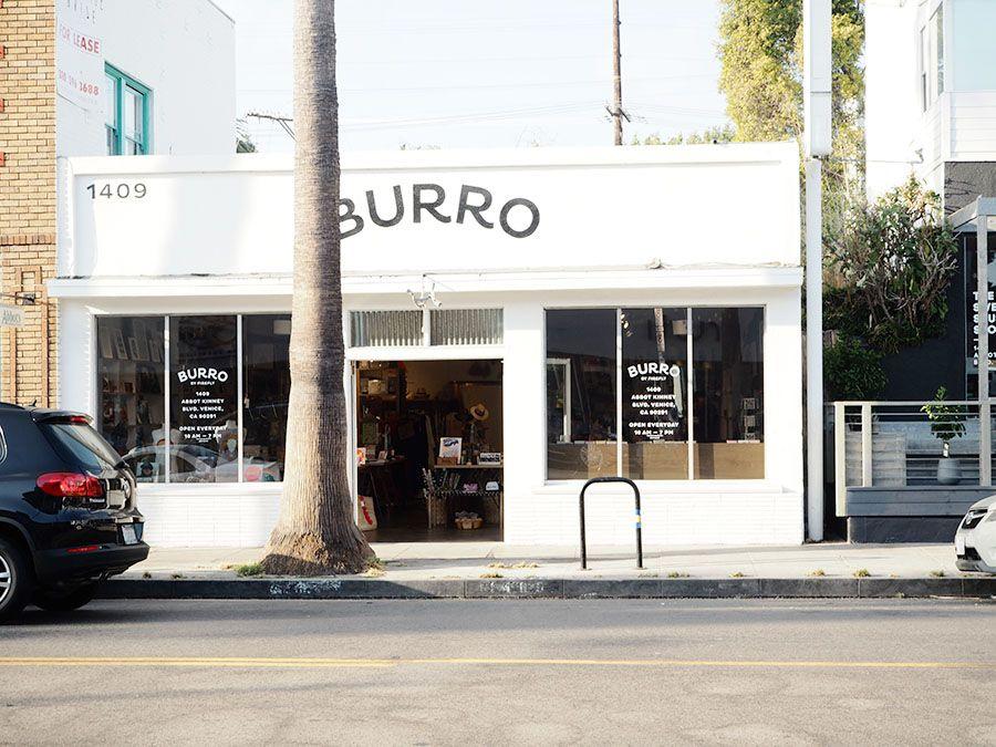 Burro is a lovely store in Abbot Kinney Boulevard, Venice in Los Angeles, California. Read more: http://www.monaandsaga.com/blog/2016/9/4/burro