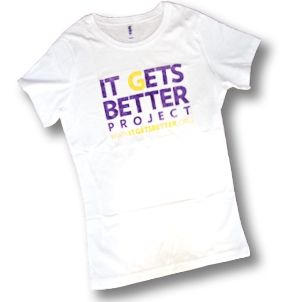 Support the it gets better project for the LGBTQ community!