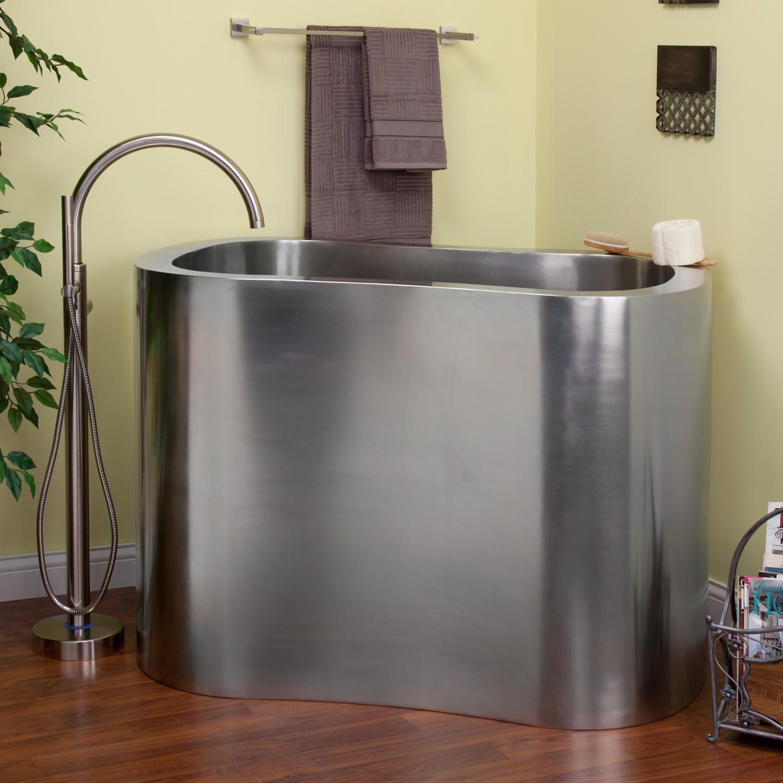 Round Bathtub Built In