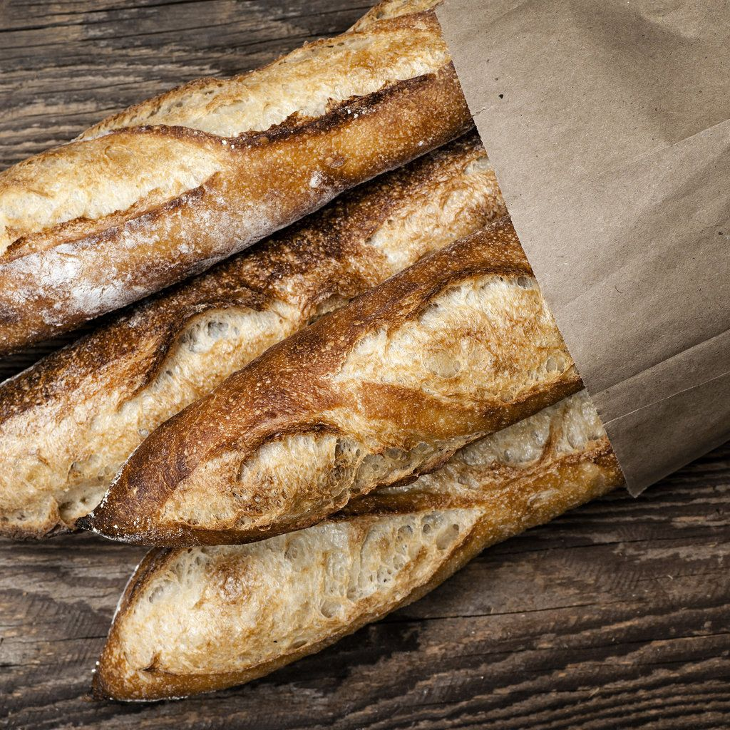 The Quickest Way to Refresh Day-Old Bread: Last night, I stopped off to buy a fresh baguette for dinner, only to get home and realize that the bread, which was baked that morning, wasn't exactly fresh anymore.