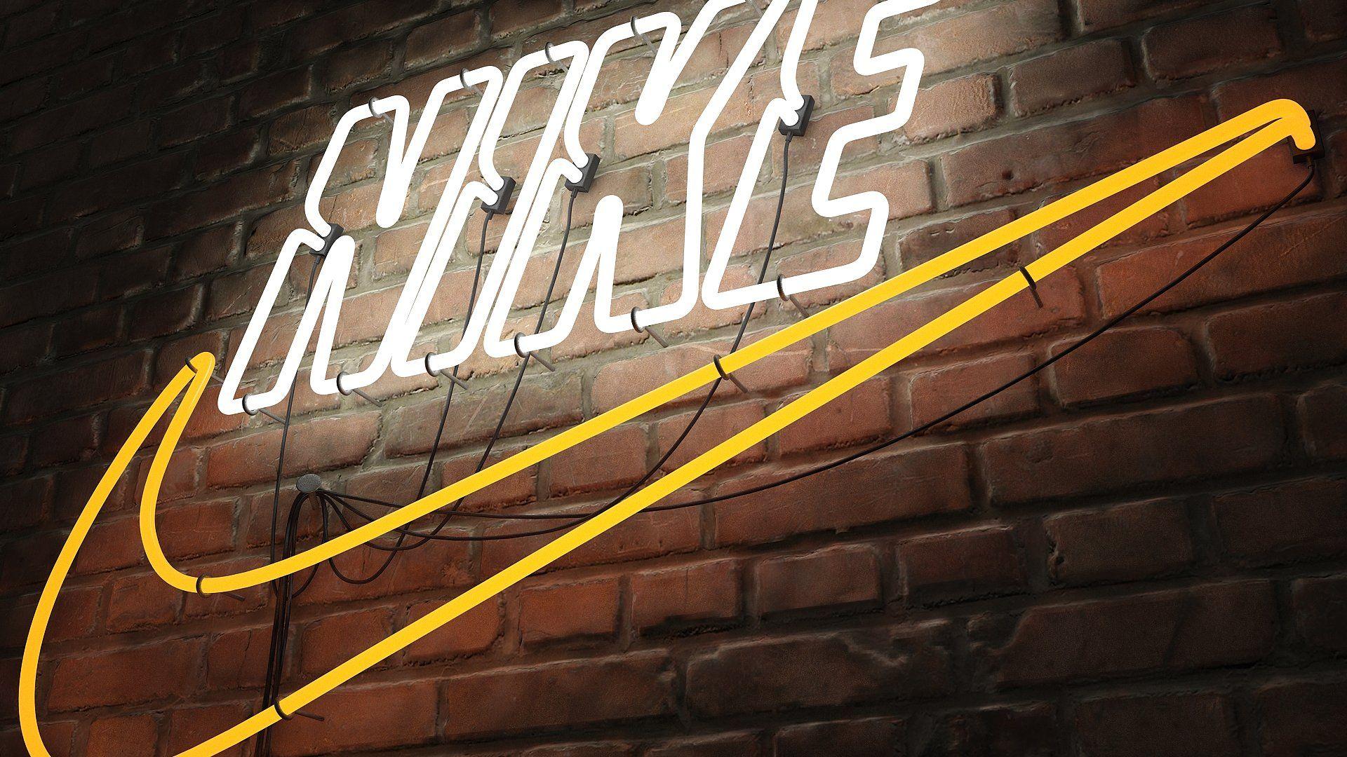 Logo sign nike 3d Logo sign, Low poly models, Portfolio