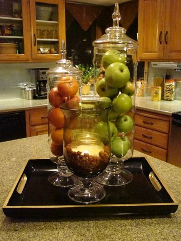 Mmm definitely a must do by mygirl on rate my space for Kitchen jar decoration