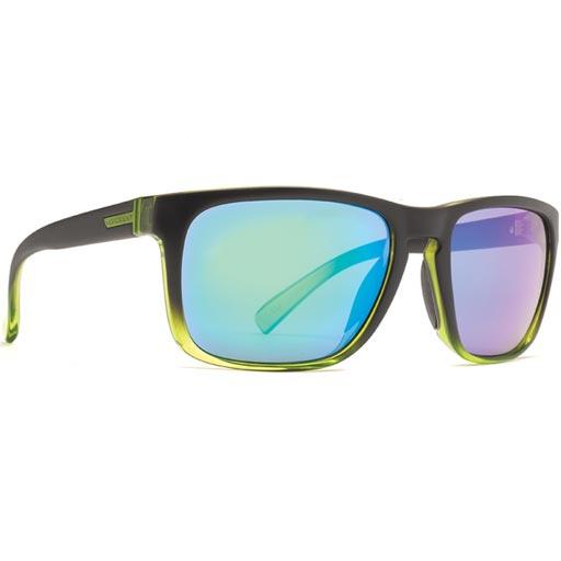 0678c8c192c Von Zipper Lomax Frostbyte Sunglasses (Black Lime Quasar Glo Lens)  65.85
