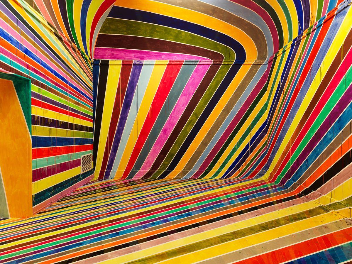 """WASSERSCHEIDE(DESIREALLPUTTOGETHER) by Markus Linnenbrink """"Location: Kunsthalle Nürnberg, Germany"""" 2014"""