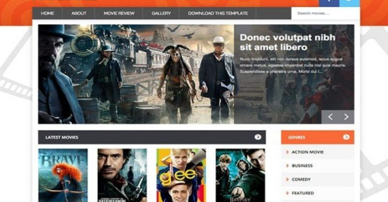 Movie Blogger Template Free Blogspot Templates Free Blogger Templates Blogger Templates