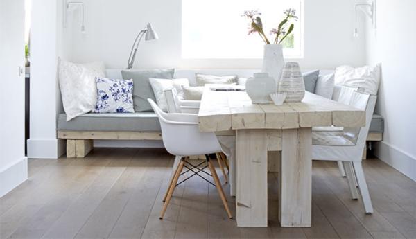 weißes-zimmer-im-nordischen-stil | nordische möbel | Pinterest