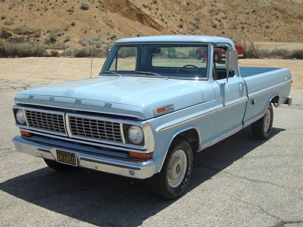 All Original Two Owner 1970 Ford F100 Classic Cars Ford Trucks Old Ford Trucks
