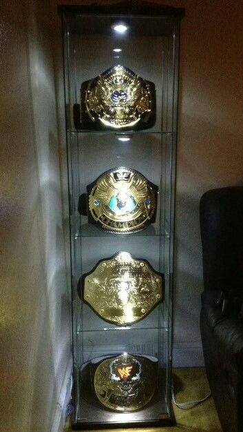 Championship Belt Glass Display Belt Display Sports