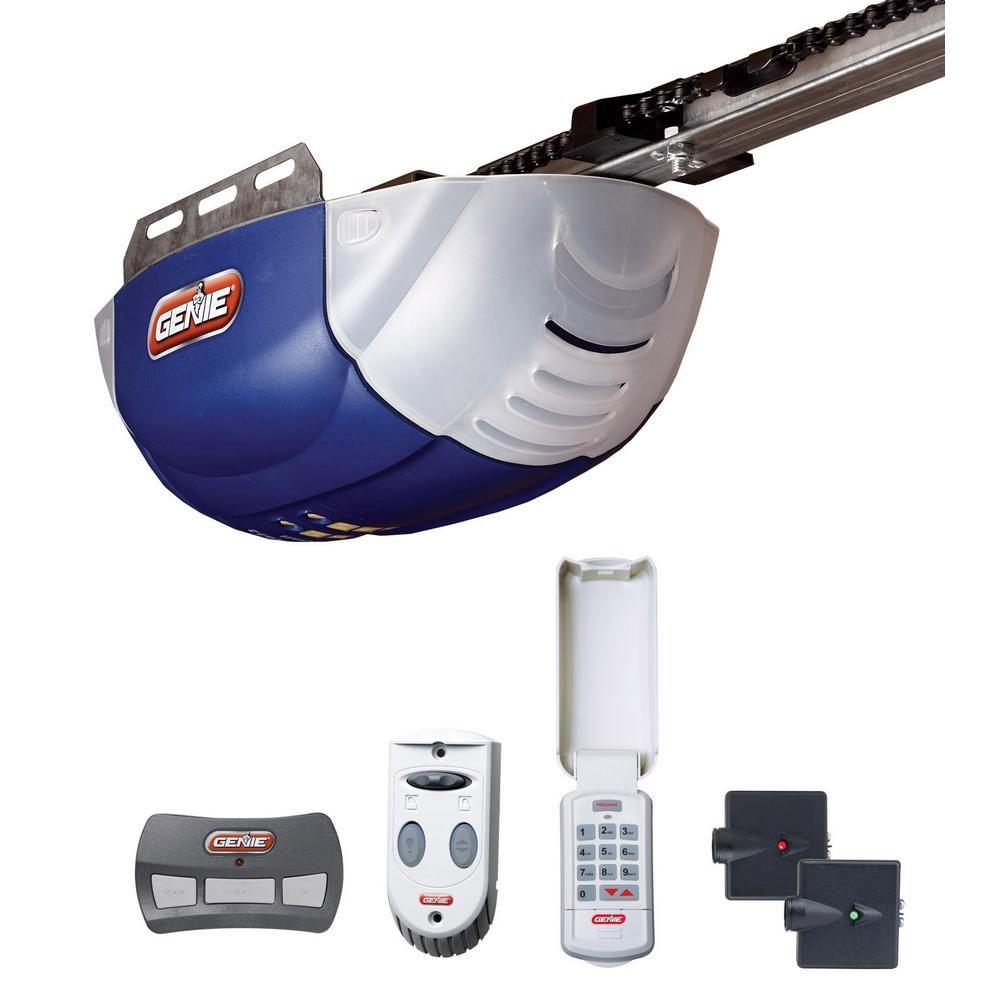 Chainlift 800 1 2 Hp Power Plus Dc Motor Chain Drive Garage Door Opener Garage Doors Best Garage Doors Garage Door Opener
