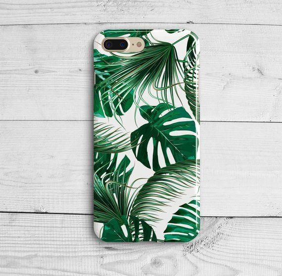 Funky banana leaf pattern. iphone 11 case