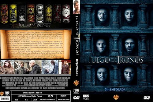 Game Of Thrones Season 6 2016 Dvd Cover Game Of Thrones Game