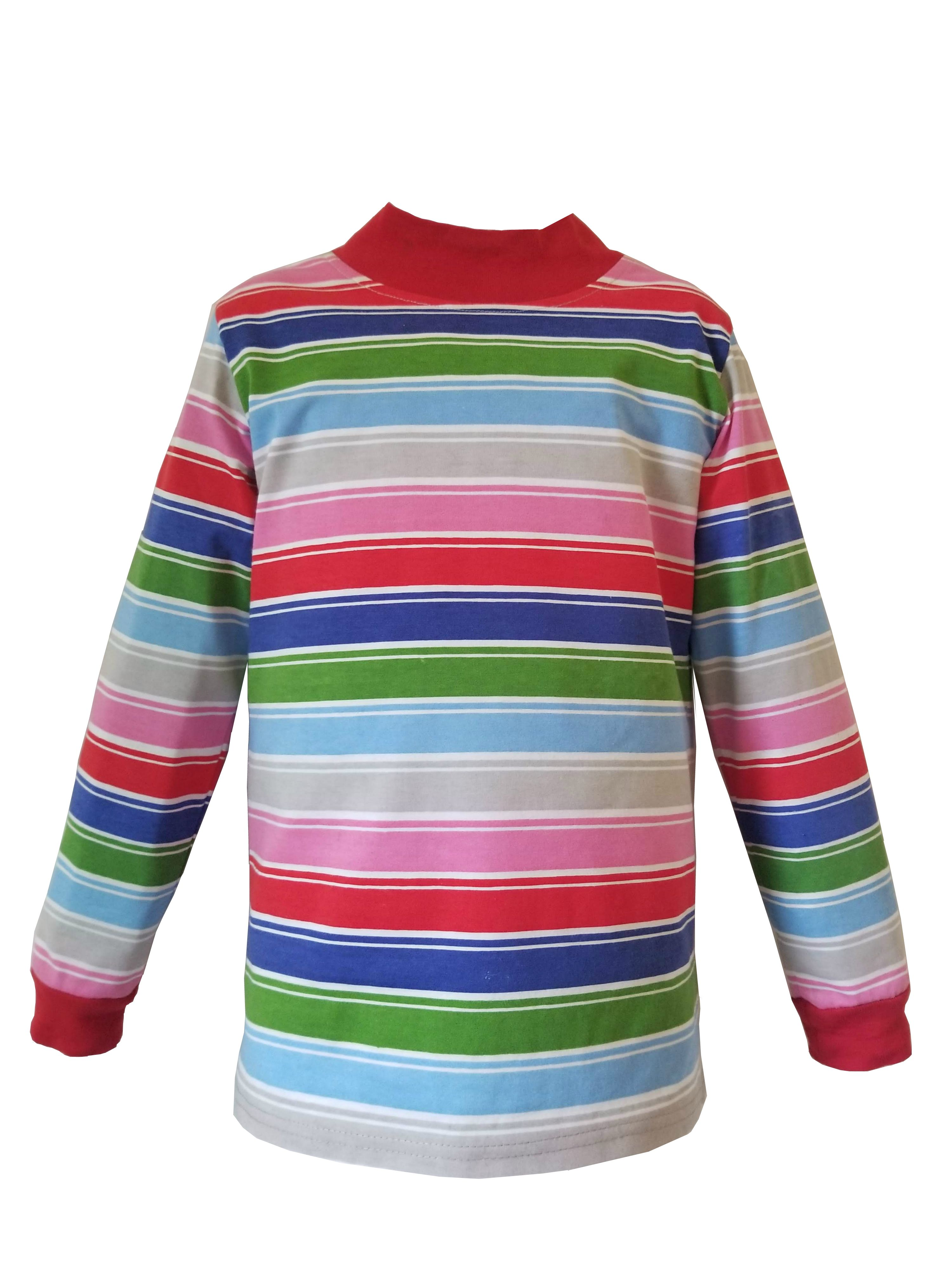 f2f82970c Unlike most Halloween Costumes, this rainbow-striped t-shirt can be washed  and worn as with any other t-shirt. Combine with a pair of jean overalls  that can ...