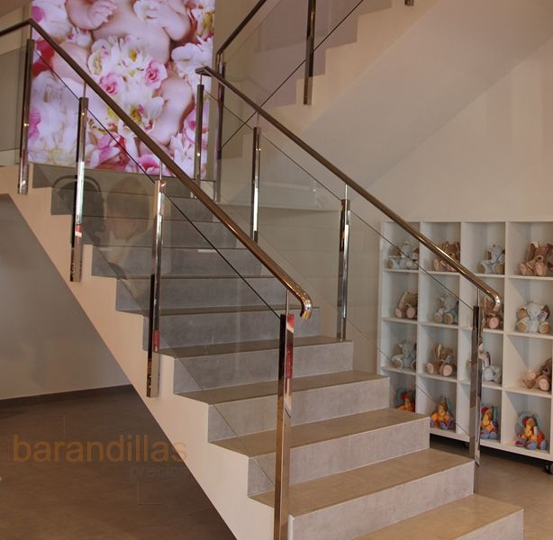 Pin de claudia garcia en escaleras pinterest - Barandillas para escaleras interiores modernas ...