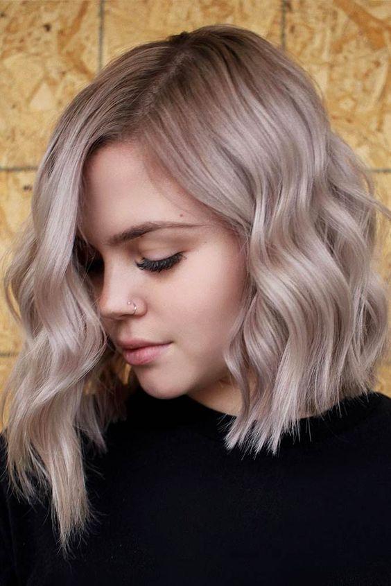 10 Asymmetrical Lob Haircuts for Women