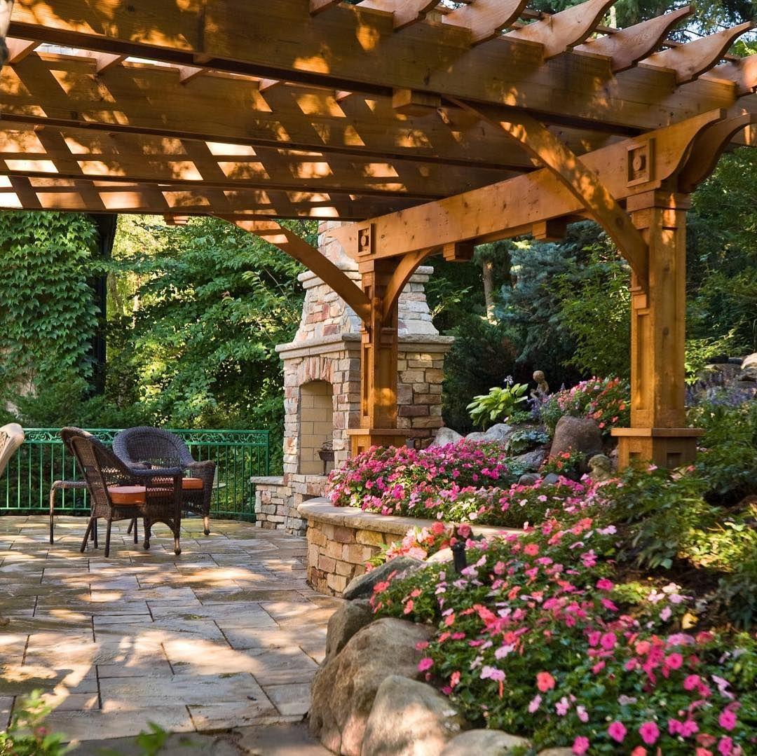 20 Sloped Backyard Design Style Ideas Www Designrulz Co Backyard Design Backyard Patio Backyard