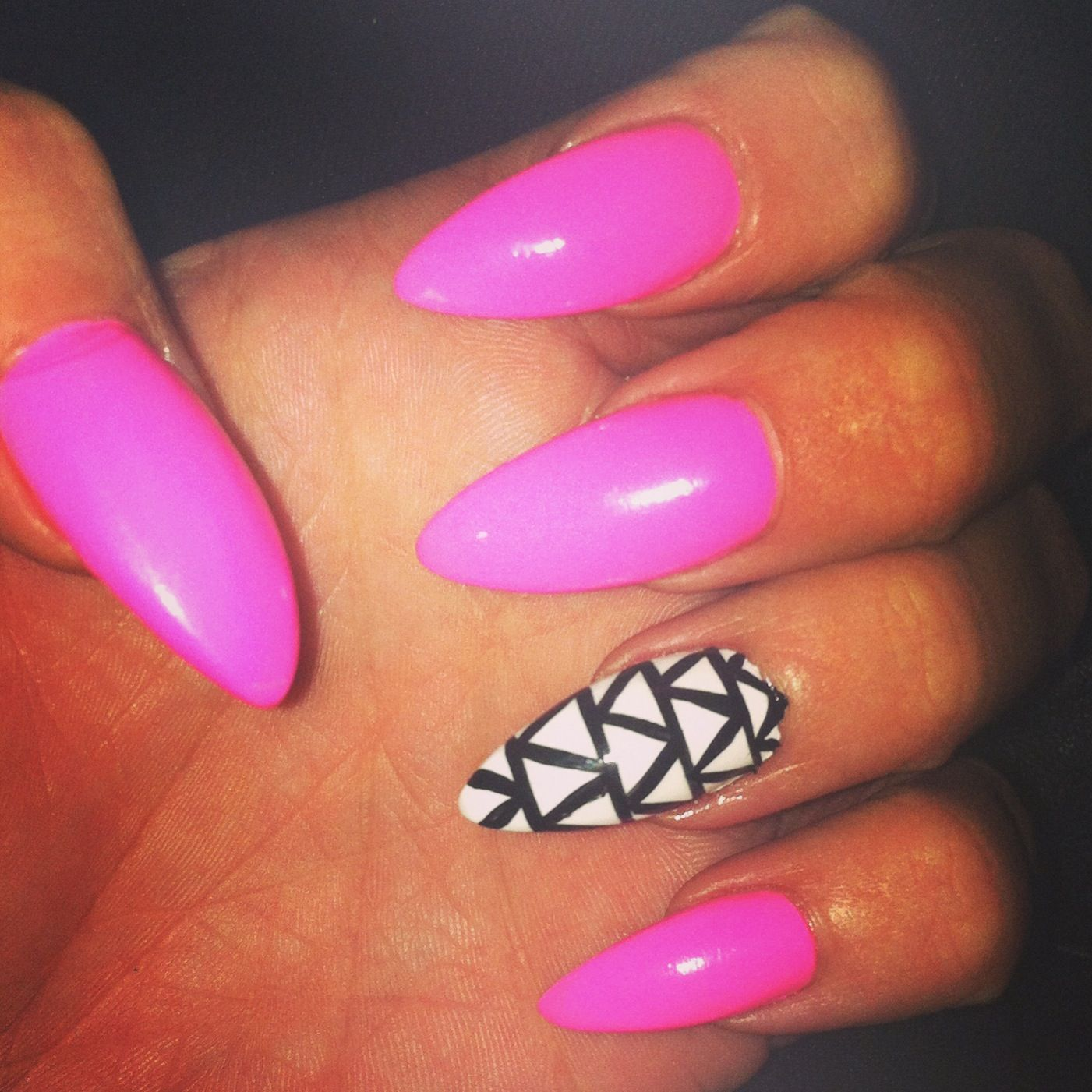 Stiletto nails | nailz | Pinterest | Fun nails, Make up and Nail nail