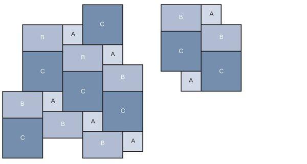 Floor Tile Patterns 3 Sizes Tile Laying Patterns Stone Flooring Patterned Floor Tiles