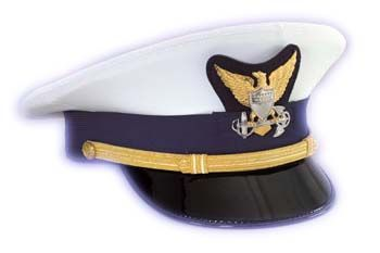 05a85da7e U.S. Coast Guard Service Cap - Officer | U.S. Coast Guard | Coast ...