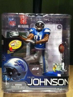 outlet store b141e a4fbb McFarlane NFL Series 30 Calvin Johnson Jr Detriot Lions ...