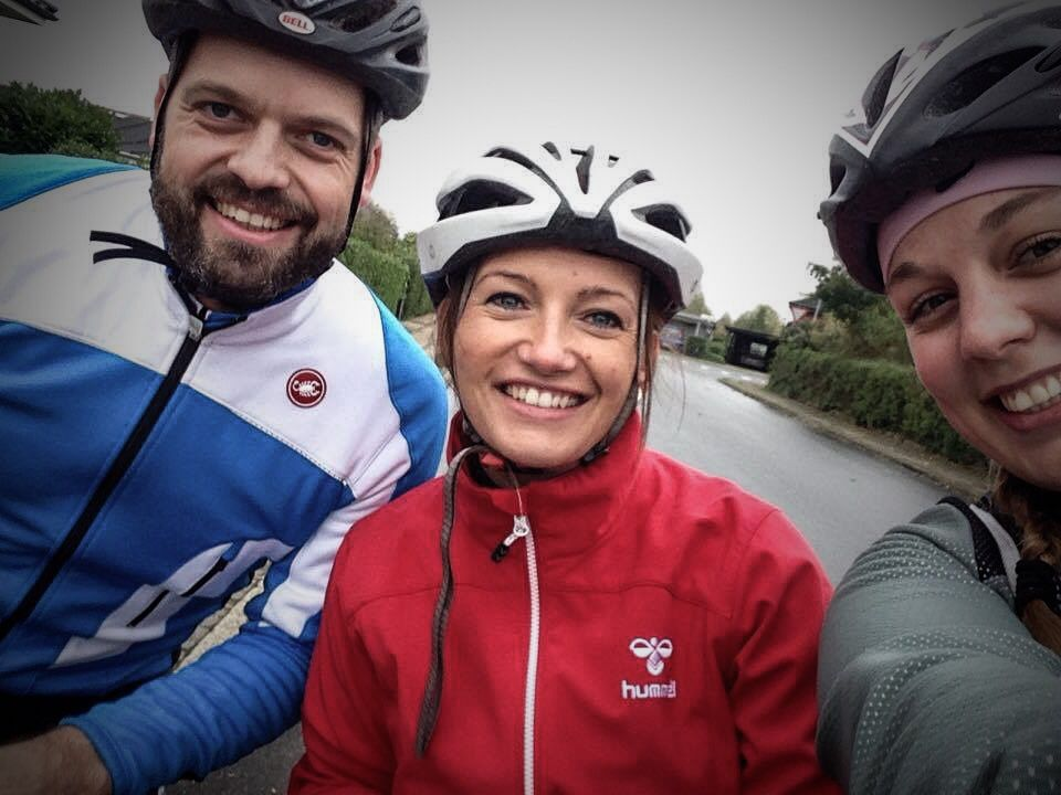 Team Rynkeby Trekanten gør klar til Tour De Paris 2015 #BSMReklame #TRtrekanten#boernecancerfonden
